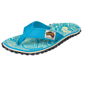 GUMBIES Islander Canvas Thongs turquoise